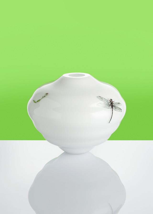 Artwork Dragonfly vase main picture