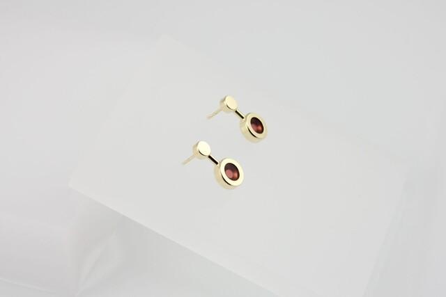 Artwork Kyō earrings small + acrylic main picture