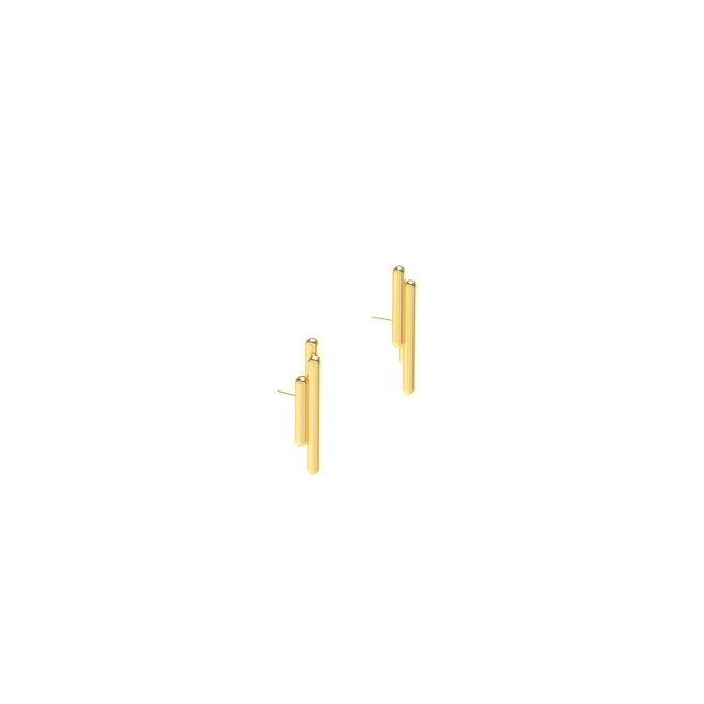 Artwork Space earrings 2222 yellow main picture