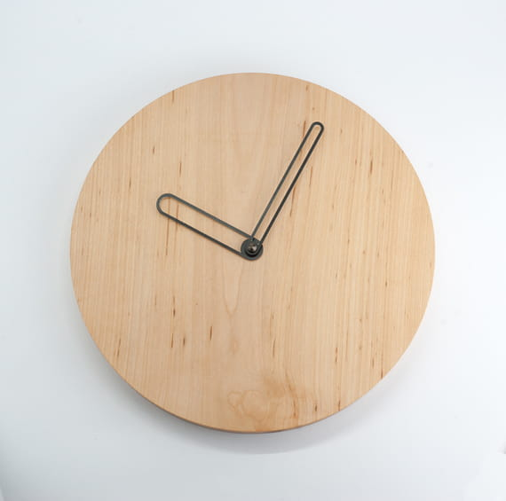 Wall clock Circle by  Urbanwood,