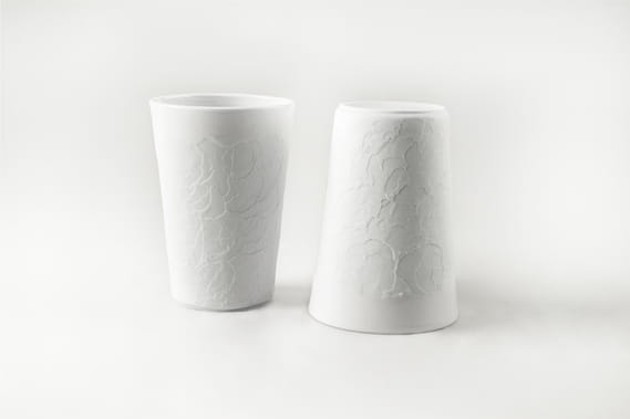 Lenka Záhorková  Structure collection / Cup by  Nalejto,