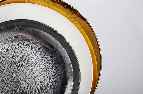 Markéta Kalivodová/ Plate Fryst  by  Nalejto,