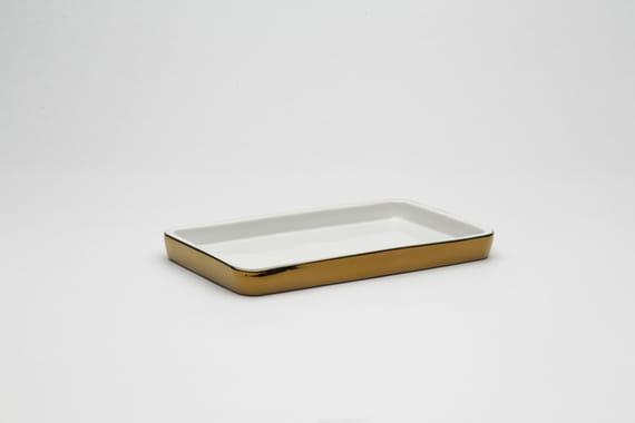 Plate rectangle by Lucie  Fleková,