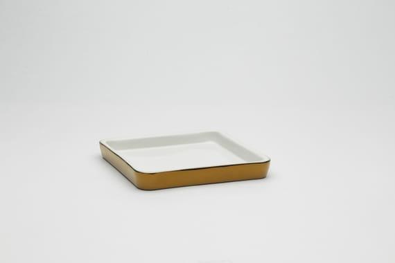 Plate square by Lucie  Fleková,