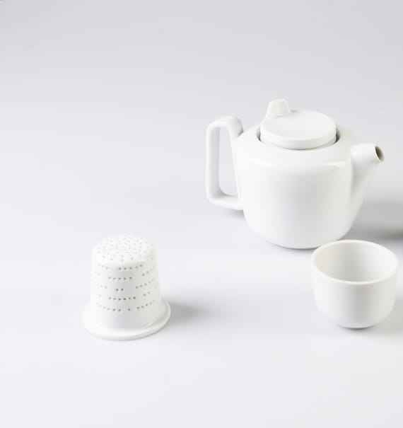 Less is more, less is bore / strainer by  Nalejto,