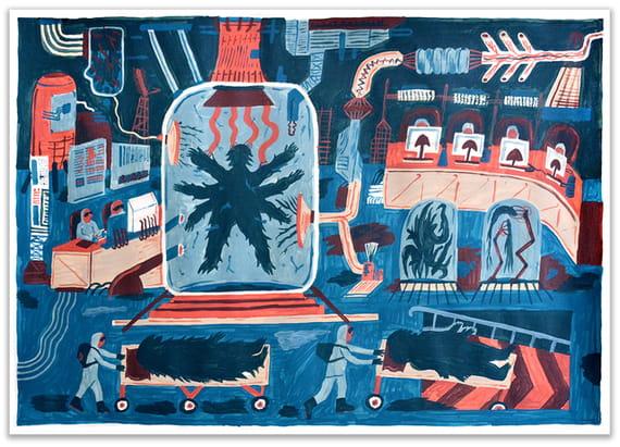 Oblast Mutagen 002 laboratoř by Jakub  Bachorík,