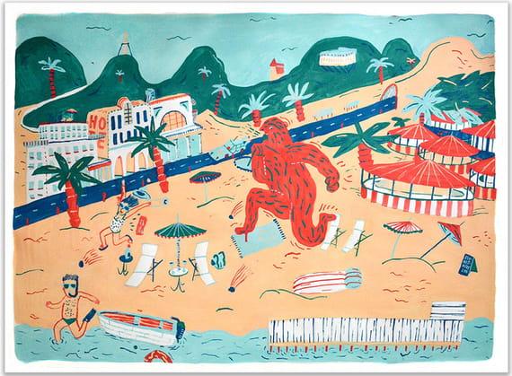 Na pláži jako doma by Jakub  Bachorík,