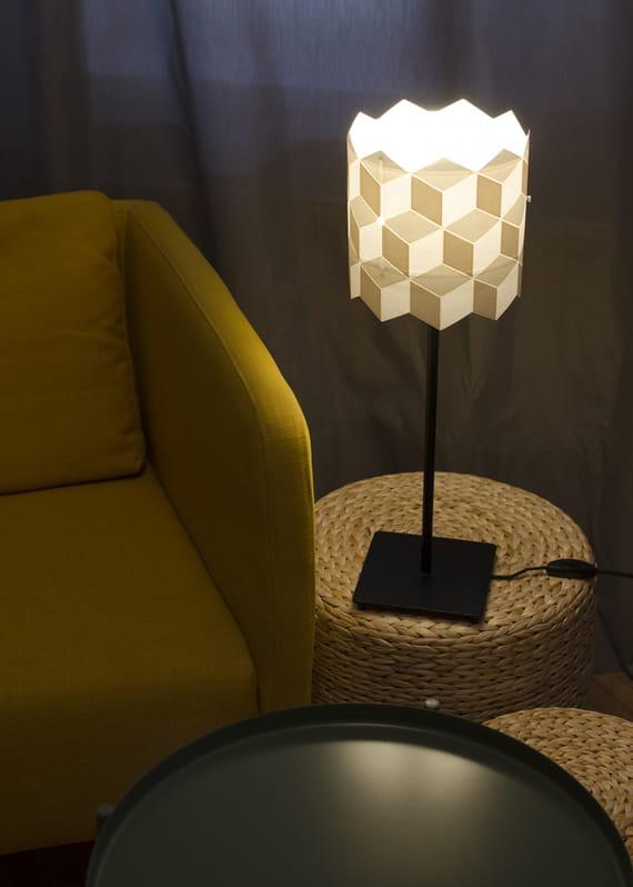 Lamp shade / Cubes - small by Yozik  lamps,
