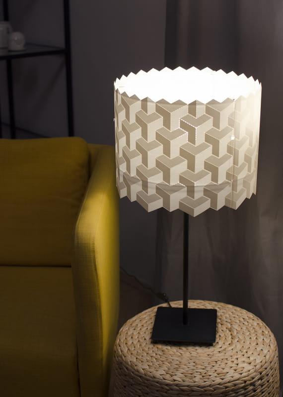 Střední stínidlo Puzzle by Yozik  lamps,