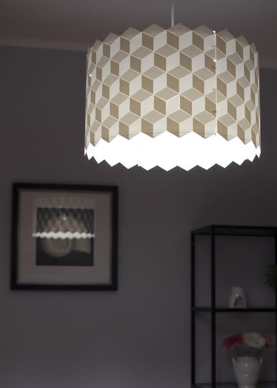 Velké stínidlo Cubes by Yozik  lamps,