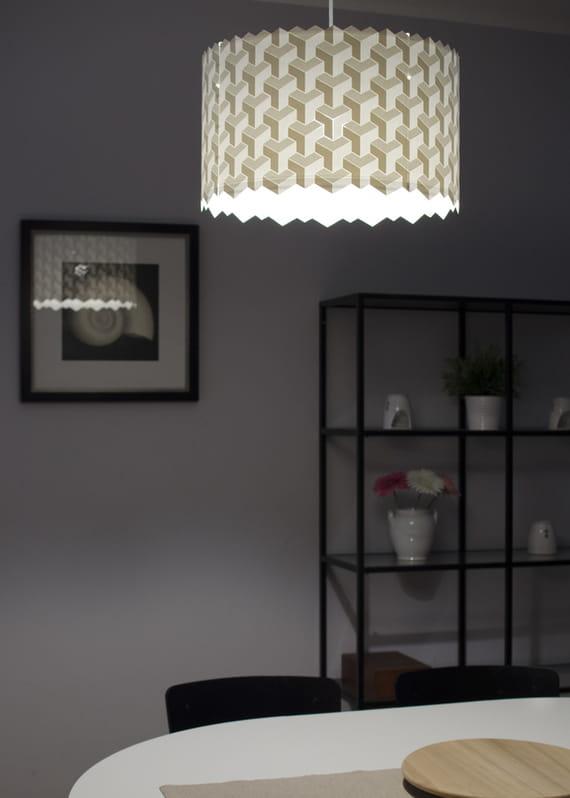 Velké stínidlo Puzzle by Yozik  lamps,