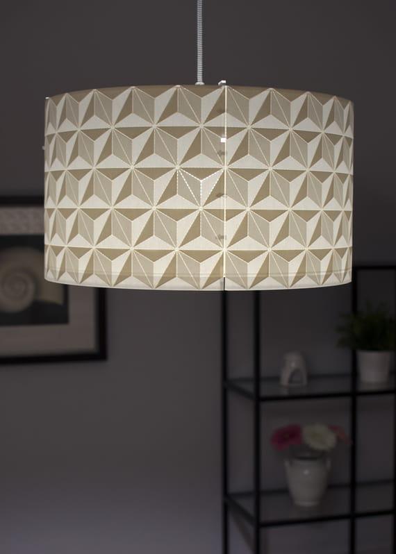 Lamp shade / Stars - big by Yozik  lamps,