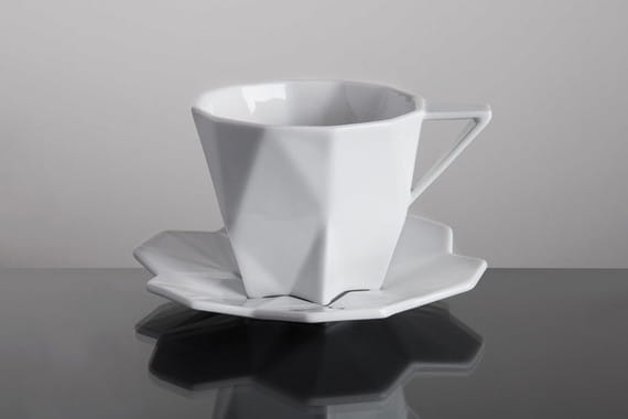CUP WITH SAUCER by  Vjemy,