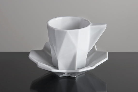 ESPRESSO CUP WITH SAUCER by  Vjemy,