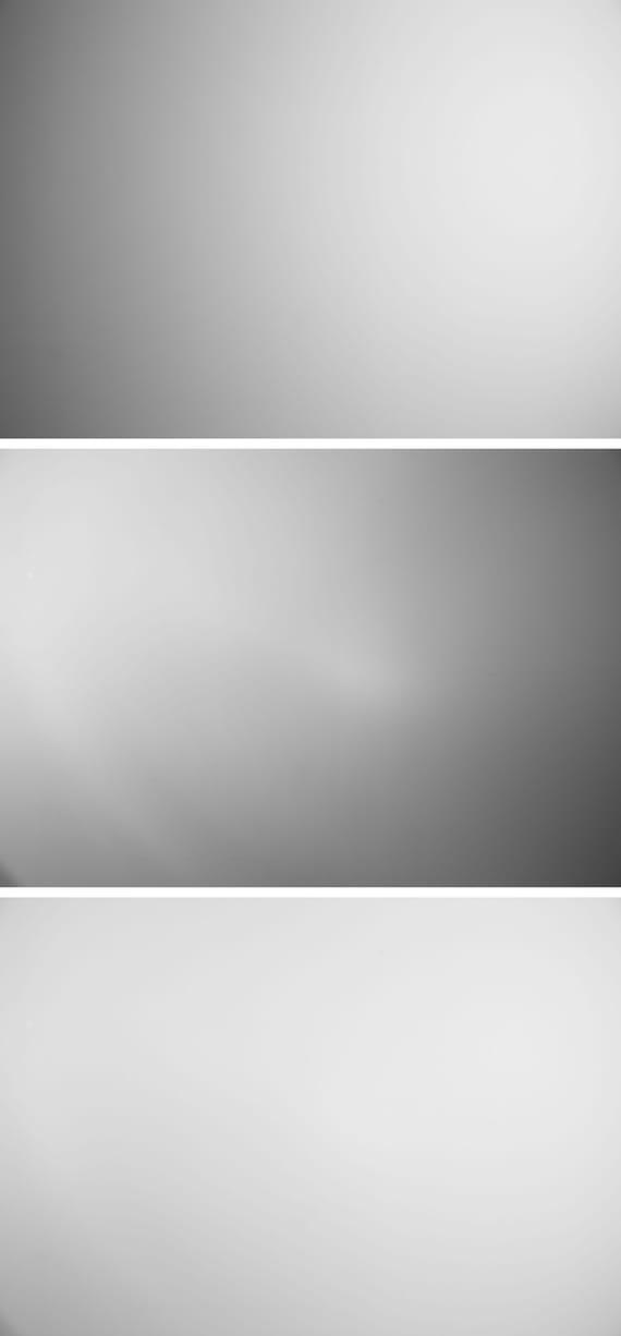 Bright spot - White triptych by Markéta  Tichá,