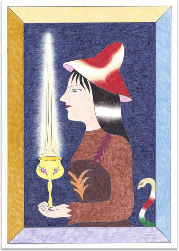 Witch by Zhanna Tuz,