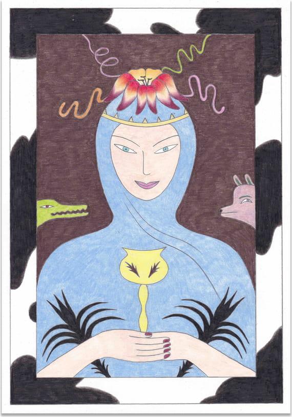 Královna pohárů by Zhanna Tuz,