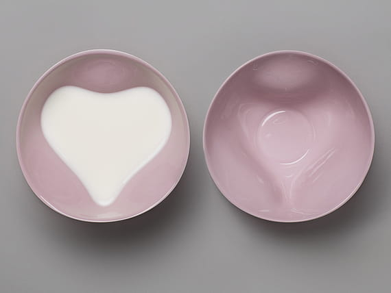 Heart Bowl / Pink by  Tablo,