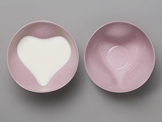 Miska Srdce / Růžová by  Tablo,