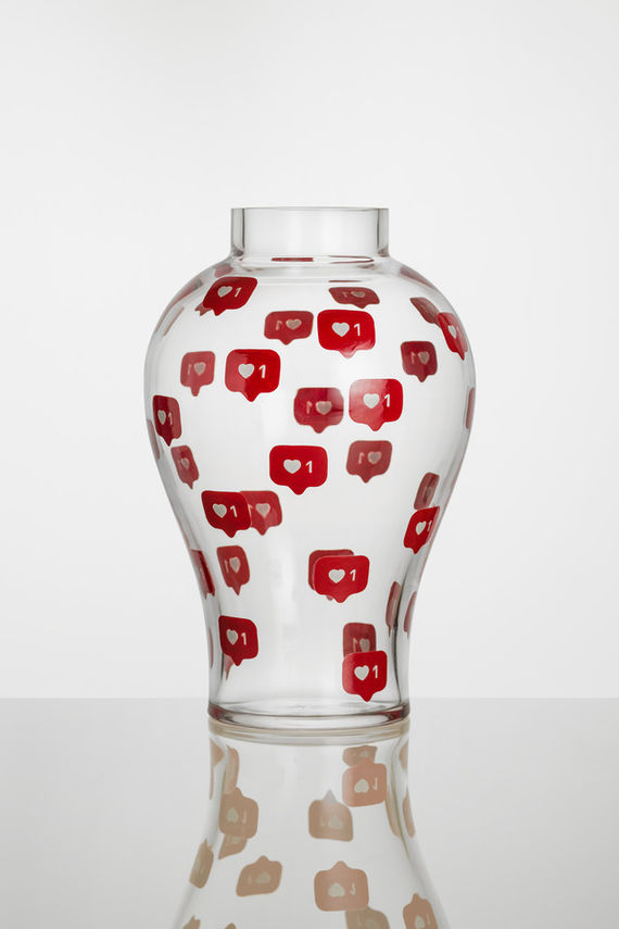 Váza InstaLOVE  by Yu Lin Huang,