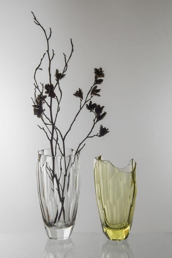 Váza krystal / Žlutá by Daniel  Vágner,