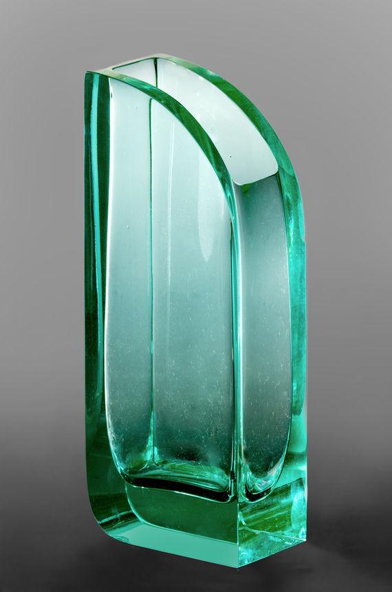 Váza ´´vessel´´ / Zelená by Daniel  Vágner,