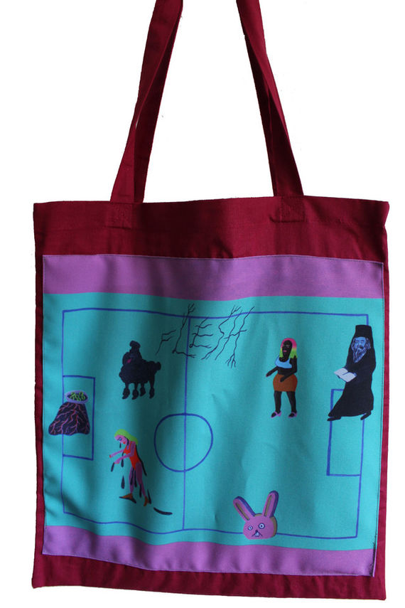 Tote bag with original motive by Eva Jaroňová,