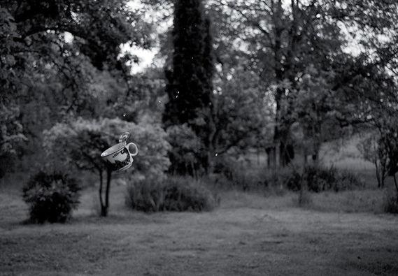 Bez názvu (série Gravitace)#3 by Adéla Kremplová,