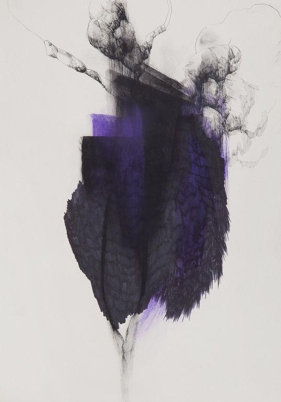 Bez názvu (série Šmíra chaosu, jalovost bezdrátu) by Eva Chudomelová,