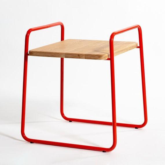 Stolička 3S / Oranžová by DURO DESIGN,