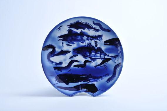 """Talíř """"Ryby"""" by Martin Salajka,"""