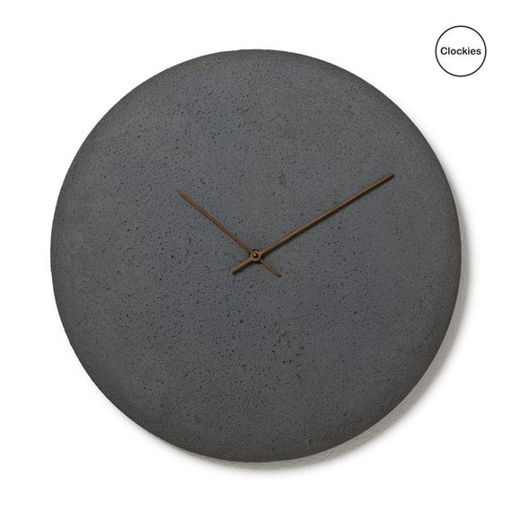 Conkrete clock CL500202 by  Clockies,