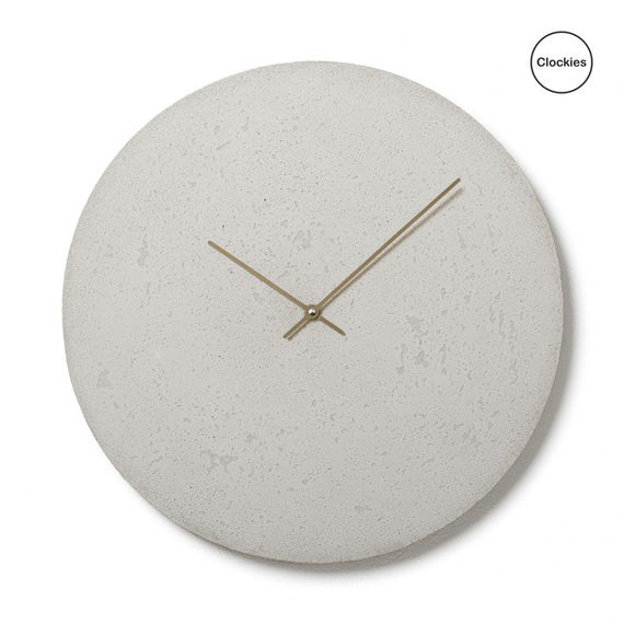 Conkrete clock CL500407 by  Clockies,