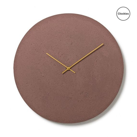 Conkrete clock CL500506 by  Clockies,