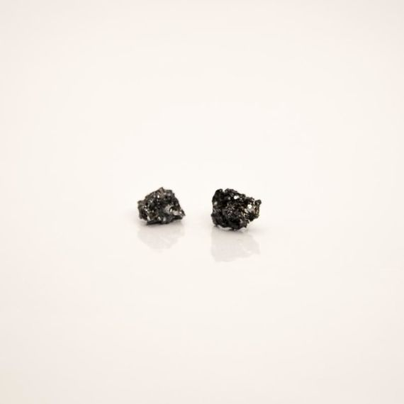 Galenit No3  / Earrings by Želé  Jewellery,