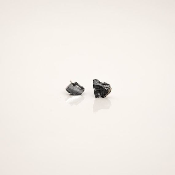 Galenit No4  / Earrings by Želé  Jewellery,