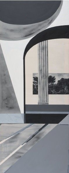 Bez názvu (série Die Klassizistischen Strukturen) #1 by Martina Smutná,