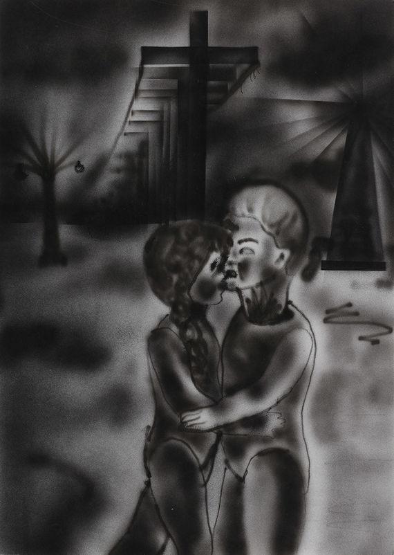 Milenci by Eva Maceková,