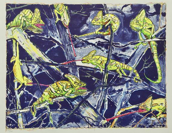Chameleoni by Martin Salajka,