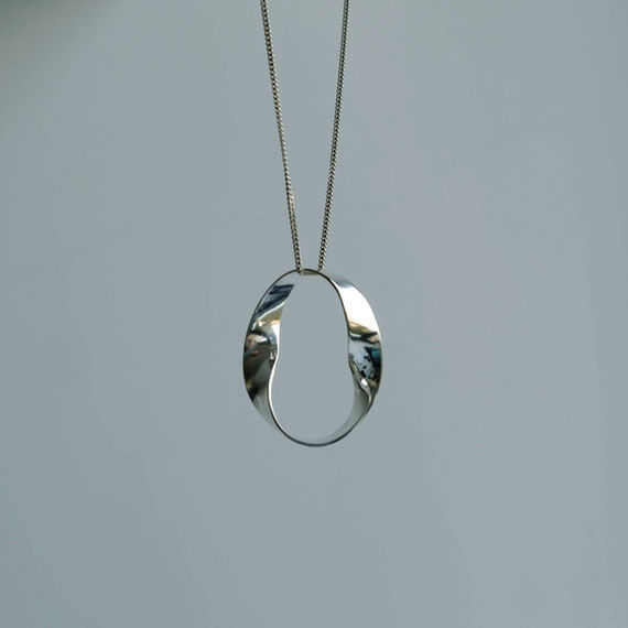 Necklace (collection FLUID) by  Chana,