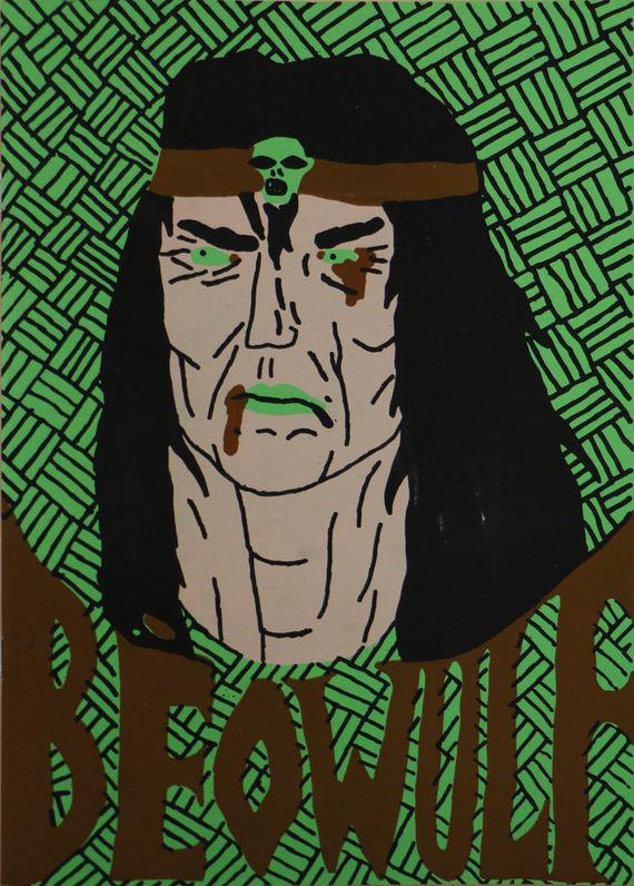 Beowulf - komiks by Eva Maceková,