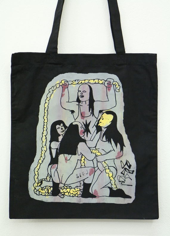 Tote bag Slej by Eva Maceková,
