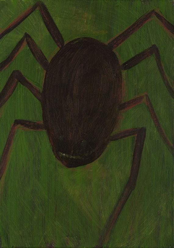 Pavouk, klíště by Ondřej Maleček,