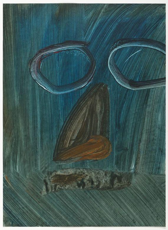 V brýlích, (Modrý Edward) by Ondřej Maleček,
