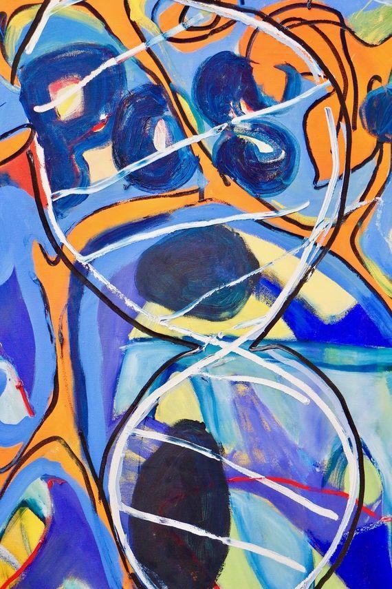Artwork Bez názvu #5 (série Chemtrails) other picture