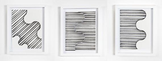 Kanelury V. - triptych by Michaela Vrbková,