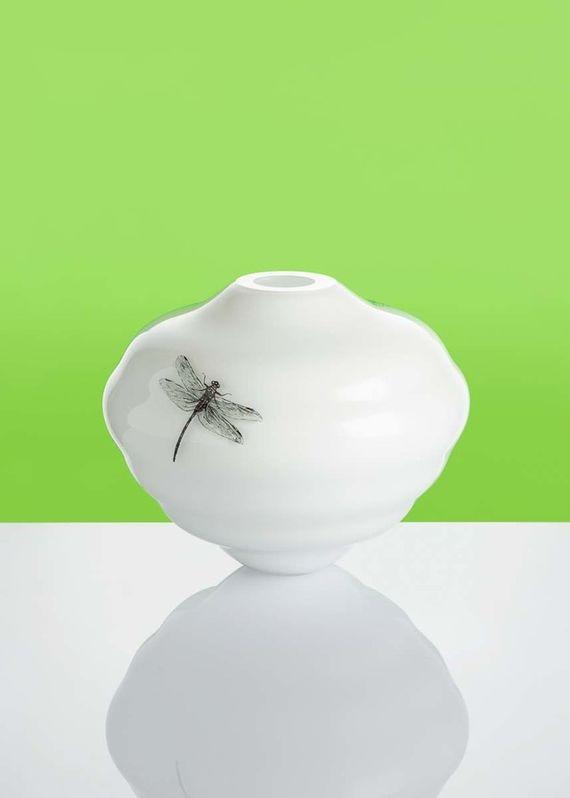 Artwork Dragonfly vase other picture