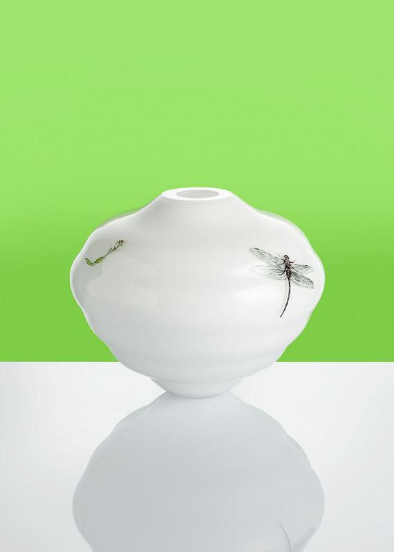 Decal vase - Bílá #1 by František  Jungvirt,