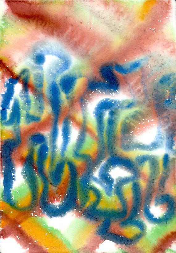 Bez názvu #1 (akvarel) by Alžběta Krňanská,