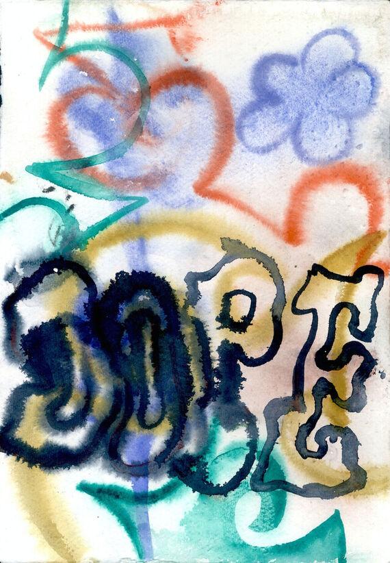 Bez názvu #2 (akvarel) by Alžběta Krňanská,